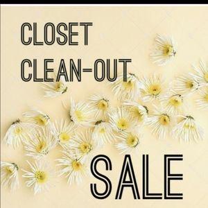 💲💲WHOLE CLOSET SALE!!!